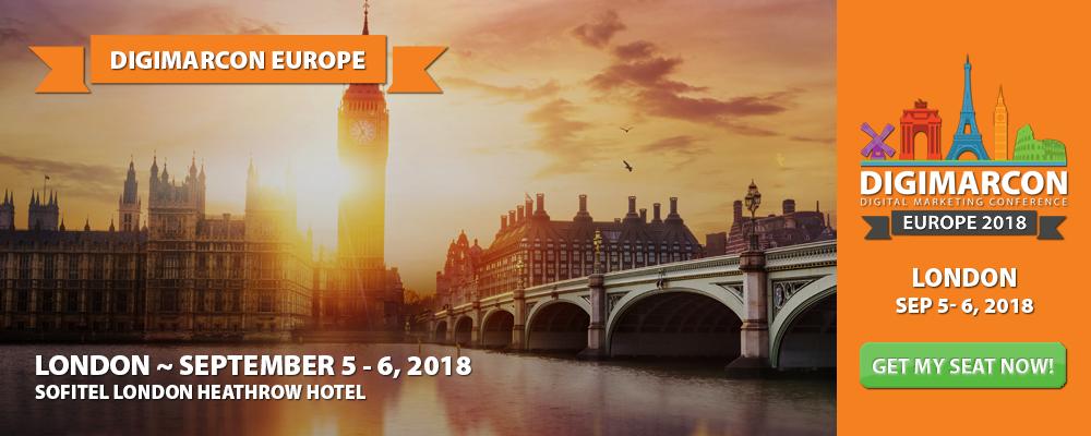 DigiMarCon Europe 2018