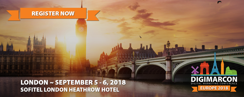 DigiMarCon Europe 2018 Register