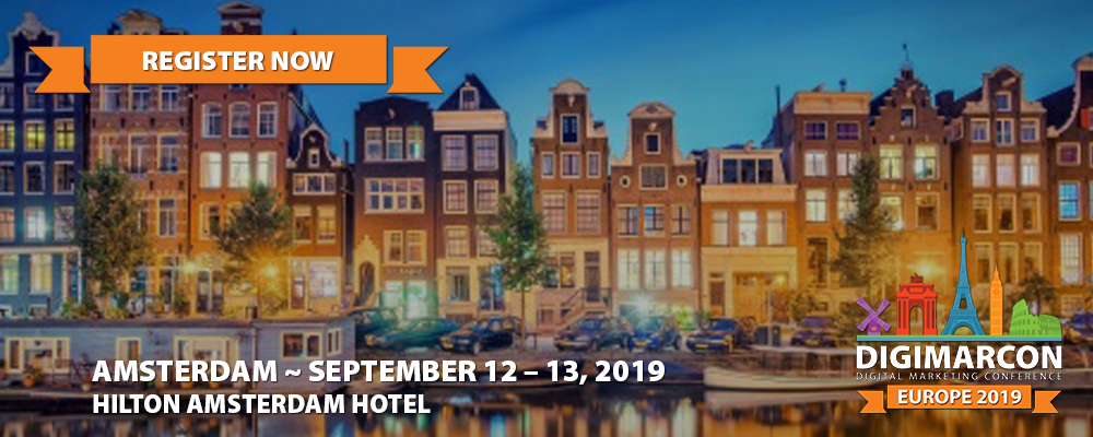DigiMarCon Europe 2019 Register